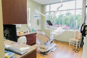 Garden Gate Dental Exam Room